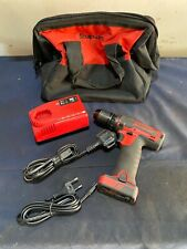 Snap on drill cdreu761 14.4v drill micro lithium rechargeable