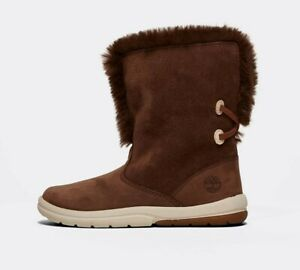 NURSERY TIMBERLAND TODDLE TRACKS BOOTIE TRAINER BROWN BOOTS (SF2) RRP £59.99