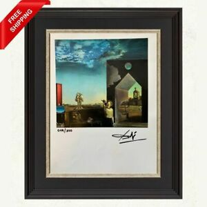 Salvador Dali Original Print - Signed and Stamped by Gallery with COA