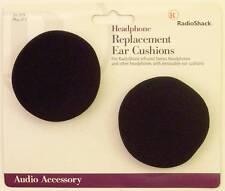 "RadioShack Foam Earphone Headphone Replacement Pads Earpads 1-3/8"" x 2-3/4"""