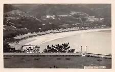 HONG KONG, CHINA ~ REPULSE BAY OVERVIEW, REAL PHOTO PC ~ c. 1920-1930s