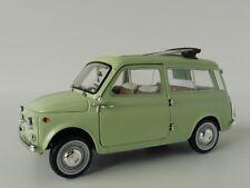 FIAT 500 Giardiniera Light Green 1962 Model Car Ready-made NOREV 1 18