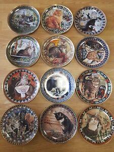 Lesley Ann Ivory Cats Around The World Danbury Mint