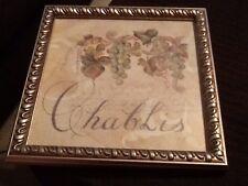 Beautiful Chablis Grapevine Framed Artwork