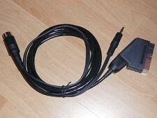 Sega Mega drive I / Genesis 1 RGB SCART / EURO Stereo HQ Cable CLEAN SYNC CSYNC
