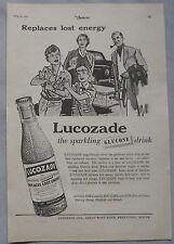 1953 Lucozade Original advert