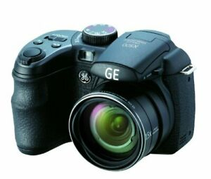 GE Power Series X500 16 MP with Optical Zoom Digital Camera (Black) (OLD MODEL)