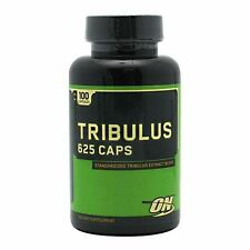 OPTIMUM NUTRITION TRIBULUS 625 CAPS 100 CAPS BOOST TESTOSTERONE 625MG NEW ENERGY