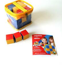 Uniwürfel Nikitin Material Lernspiel Holzspiel NEU!