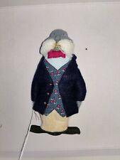 Gladys Boalt Christmas Ornament Walrus Signed no tusks 1985
