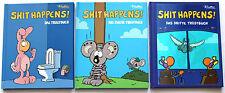 SHIT HAPPENS!   Das Tröstbuch   1 bis 3   Carlsen Comics   HC   Z1   XL986