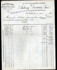 "NANTES (44) LINGERIE & TISSUS en gros ""Antony DORAIN & FOURNON"" en 1919"