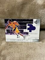 KOBE BRYANT⚡️2003-04 Upper Deck Prized Properties Jersey Patch🔥Lakers RARE
