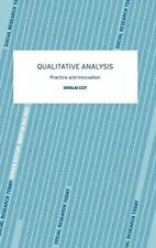 Qualitative Analysis (Social Research Today), Ezzy 9780415281263 New-,