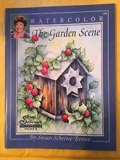 Susan Scheewe The Garden Scene Book Full of Watercolor Art Lesssons