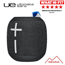 Ultimate Ears Wonderboom 2 Wireless Speaker, 360° Surround Sound - Black