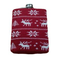 Christmas Sweater Stainless Steel 7oz Flask Liquor Drink