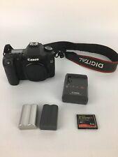 New ListingCanon Eos 40D 10.1Mp Digital Slr Camera + Batteries Charger & Accessories.