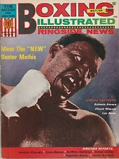 BOXING ILLUSTRATED MAGAZINE BUSTER MATHIS Sr COVER MAY 1969