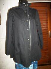 Manteau 3/4 imperméable coton noir BEST MOUNTAIN L 42/44