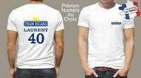 t-shirt personnalisé team ricard prénom et numéro au choix humoristique P076