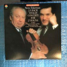 D 37278 Bach / Vivaldi Concerti For 2 Violins Isaac Stern & Pinchas Zuckerman