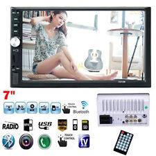 """7"""" Touchscreen Double 2Din In Dash Car Stereo Radio Mp5 MP4 Bluetooth TV Player"""