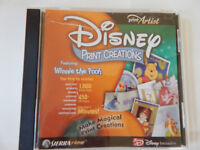 Disney Print Creations: Winnie the Pooh by Print Artist PC CD ROM project
