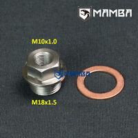 Sensor Sender Unit Block Sump Adaptor M10 x 1.0 Female x M18 x 1.5 Male UK