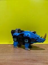 New listing Power Rangers Wild Force Gao Blue Rhino Rhinoceros Bandai. Original. Heavy.