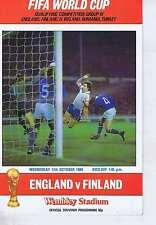 ENGLANDVFINLANDProgramme17Oct1984