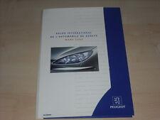 56129) Peugeot 206 CC Studie Pressemappe 03/1998