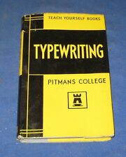 Vintage Teach Yourself Books - Typewriting By Pitmans College 1964