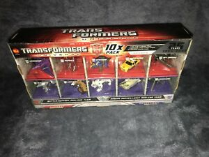Transformers Universe: Mini Con Class Exclusive *10 Pack Armada Series* Mint