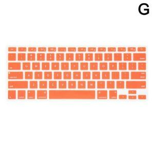 """Laptop Silicone Keyboard Protector Skin Cover For Macbook Pro 13"""" 15 HOT"""