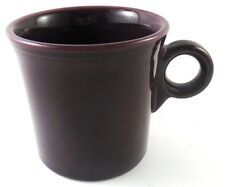 HLC Fiestaware PLUM Coffee Mug Deep Purple Tom & Jerry Ring Handle Fiesta