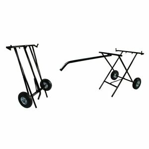Go Kart - Kartech Kart Trolley Black Inc 2 wheels/Tyres - NEW