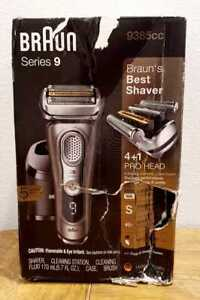 Braun Series 9 9390cc Shaver Wet Dry Electric Razor Precision Trimmer