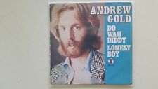 "Andrew Gold-do wah Diddy/solitaire Boy 7"" single spain"