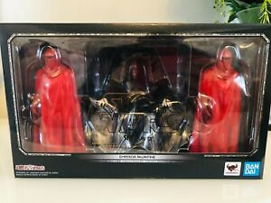 S.H.Figuarts Star Wars Rotj Emperors Throne Set Mew Boxed D