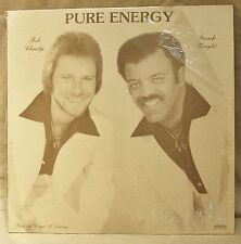 "Vintage Bob Christy, Frank Wright Autographed LP Pure Energy 1980 33RPM 12"" RB"