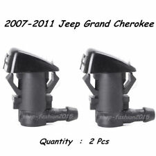 2x Windshield Wiper Spray Jet Washer Nozzle for 2007-2011 Jeep Grand Cherokee