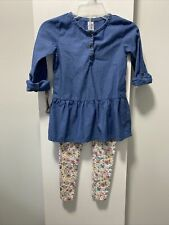 Kid girls 2 piece outfit by Carter's (Size 4/5)