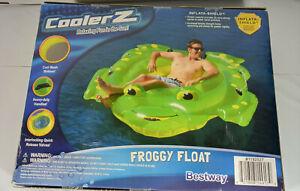 "Bestway Cooler Z Froggy Floating Pool Chair Float 91""x78"""