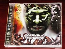 Cephalic Carnage: Conforming To Abnormality CD 2008 Reissue Relapse Records USA