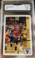 1991 Upper Deck Michael Jordan Card Gem Mint 10 Chicago Bulls Hall Of Fame