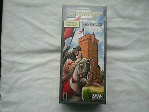 CARCASSONE EXPANSION 4 THE TOWER Z MAN GAMES BRAND NEW