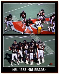 1985 CHICAGO BEARS PRINT FROM NEGATIVE (comes in 3 sizes)