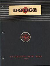 MRO Reference Guide - Dodge - Engineer's Data Book Mechanical Design (MR168)