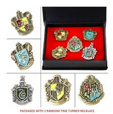 Harry Potter 5 House Crest Pins Cosplay